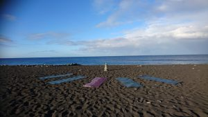 yoga op het strand door Beweeg en Leef op la Palma